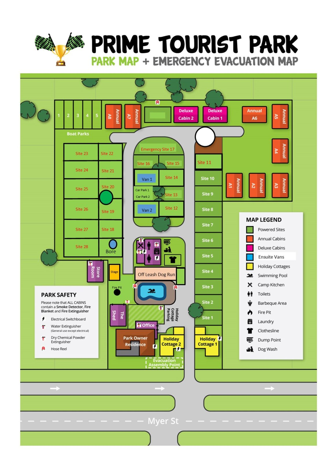 Image of Park Map